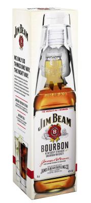 Jim Beam White Label Geschenkset