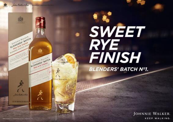 Launch des Johnnie Walker Blenders' Batch Red Rye Finish