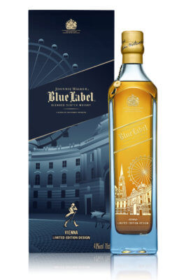 Wien erhält Johnnie Walker Blue Label Limited Edition