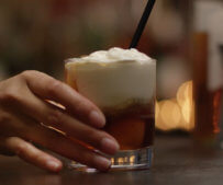 Red Rye Coffee Float