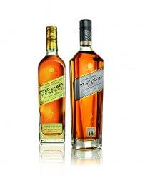 Johnnie Walker Gold Label Reserve und Platinum Label