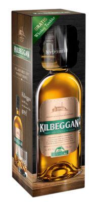 Kilbeggan Irish Whiskey in Geschenkset zu Weihnachten
