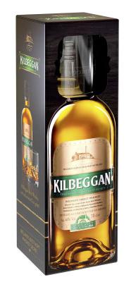Kilbeggan Irish Whiskey in Präsentbox mit Tumbler-Glas