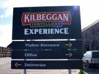 Kilbeggan Destillerie Experience Schild