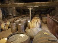 Kilbeggan Destillerie Fasslagerung