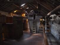 Kilbeggan Destillerie Gärtank oben