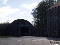 Kilbeggan Destillerie Lagerhalle