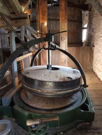 Kilbeggan Destillerie Mahlwerk