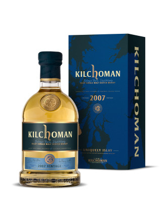 Limitierte Sonderedition Kilchoman 2007 Vintage vor Launch