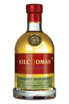 Kilchoman 2011 Vintage Rum Single Cask