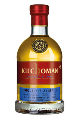 Kilchoman 2013 Vintage Bourbon Single Cask