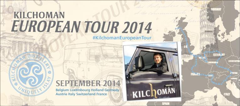 news kilchoman european tour 2014 f hrt im september durch deutschland spirituosen. Black Bedroom Furniture Sets. Home Design Ideas
