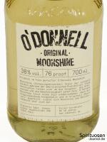 O'Donnell Moonshine Vorderseite Etikett