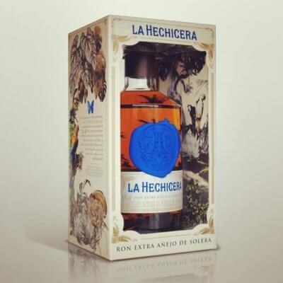 La Hechicera Rum in Geschenkverpackung zu Weihnachten