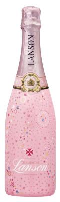 Lanson Rosé Label Pink Edition 2013 für Silvester vorgestellt