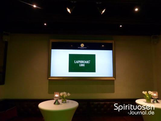 Präsentation von Laphroaig Lore mit John Campbell