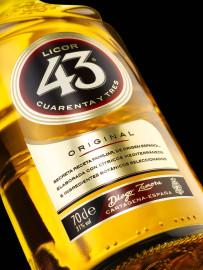 Neues Flaschendesign des Licor 43