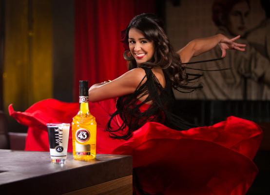Licor 43 und TV-Tänzerin Melissa Ortiz-Gomez