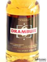 Drambuie Whiskylikör Vorderseite Etikett