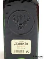 Jägermeister Rückseite Etikett
