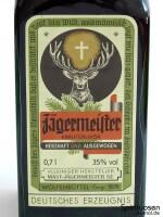 Jägermeister Vorderseite Etikett