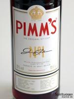 Pimm's No. 1 Vorderseite Etikett