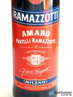 Ramazzotti Amaro Vorderseite Etikett