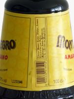 Montenegro Amaro Rückseite Etikett
