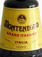 Montenegro Amaro Vorderseite Etikett