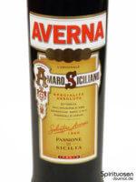 Averna Amaro Siciliano Vorderseite Etikett