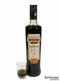 Averna Edizione Riserva di Don Salvatore Glas und Flasche