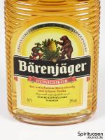 Bärenjäger Honiglikör Vorderseite Etikett
