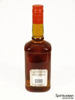 Berentzen Apple Bourbon Rückseite