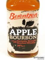 Berentzen Apple Bourbon Vorderseite Etikett