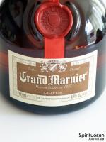 Grand Marnier Cordon Rouge Vorderseite Etikett