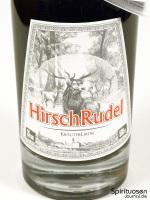 HirschRudel Kräuterlikör Vorderseite Etikett