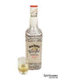Jack Daniel's Winter Jack Glas und Flasche