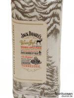 Jack Daniel's Winter Jack Etikett rechts
