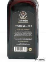Jägermeister Winterkräuter Rückseite Etikett