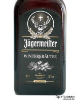 Jägermeister Winterkräuter Vorderseite Etikett