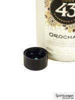 Licor 43 Orochata Verschluss
