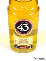 Licor 43 Cuarenta y Tres Vorderseite Etikett