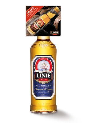 Linie Aquavit mit Linie Aquavit Double Cask im On-Pack angekündigt