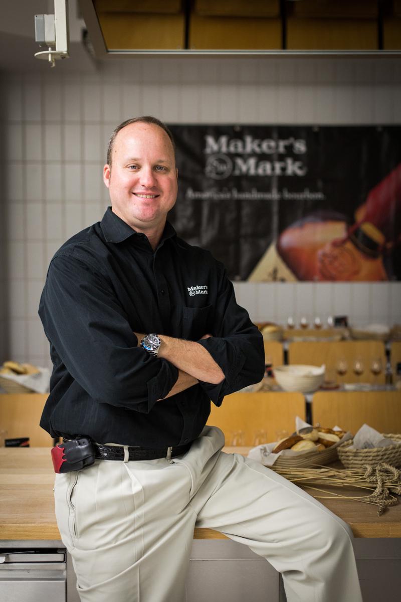bericht master distiller greg davis ber die merkmale des maker s mark whisky spirituosen. Black Bedroom Furniture Sets. Home Design Ideas