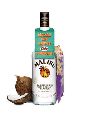 Malibu mit gratis Popcorn zum Jahresende