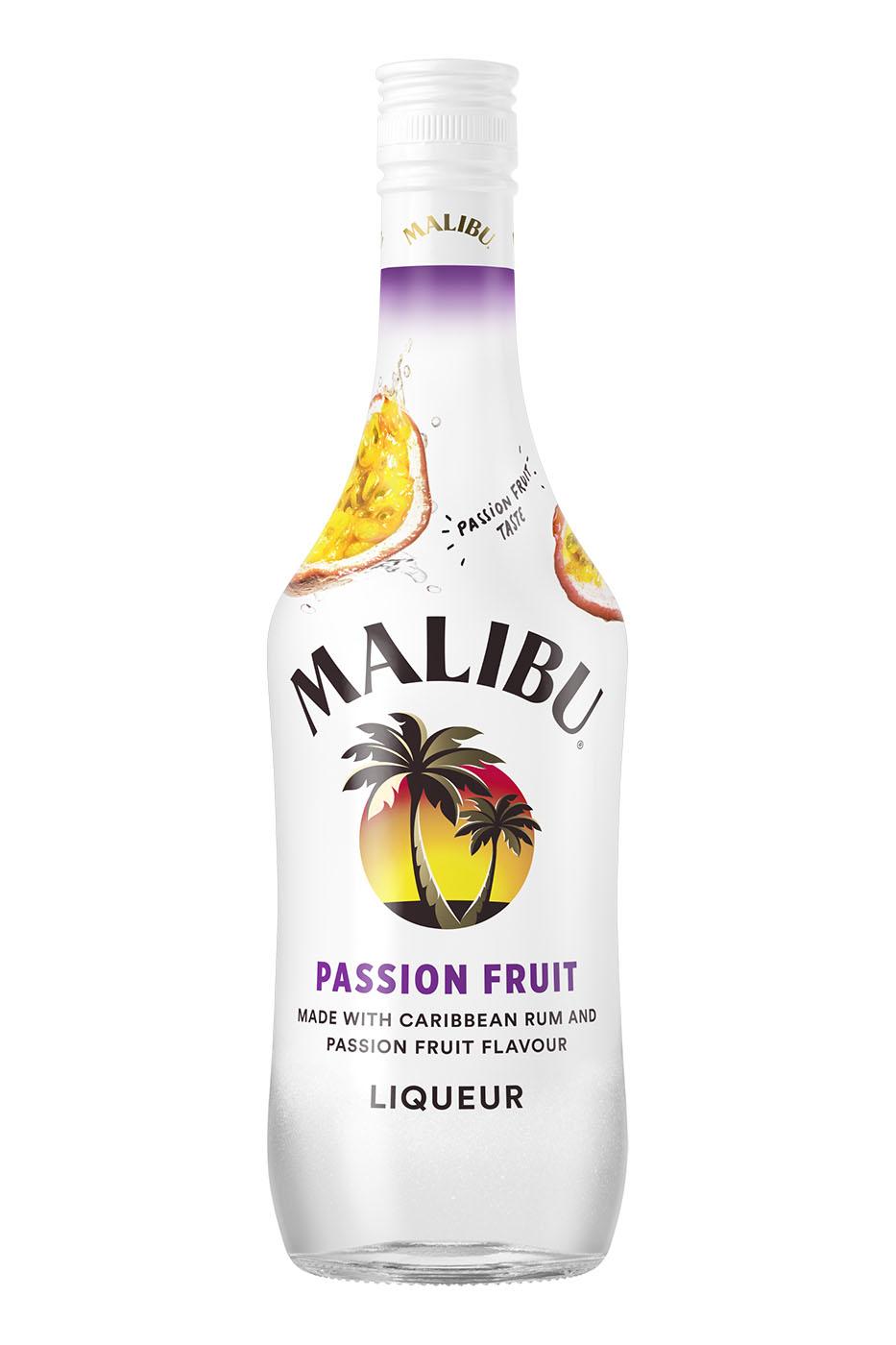 Passion Fruit Malibu Bringt Limited Edition Ohne Kokosnuss Spirituosen Journal De