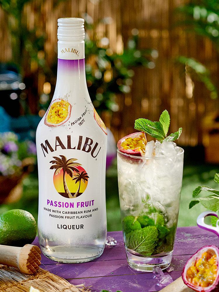 Signature Drinks Malibu Passion Fruit Im Mix Spirituosen Journal De