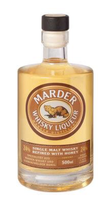 Marder Whisky Liqueur ab sofort erhältlich