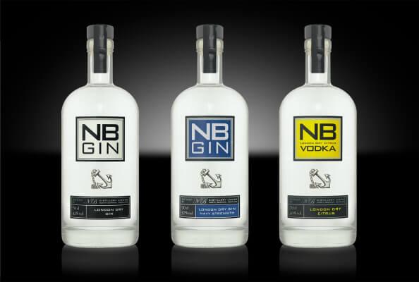 NB Distillery launcht NB Navy Strength Gin und neues Design
