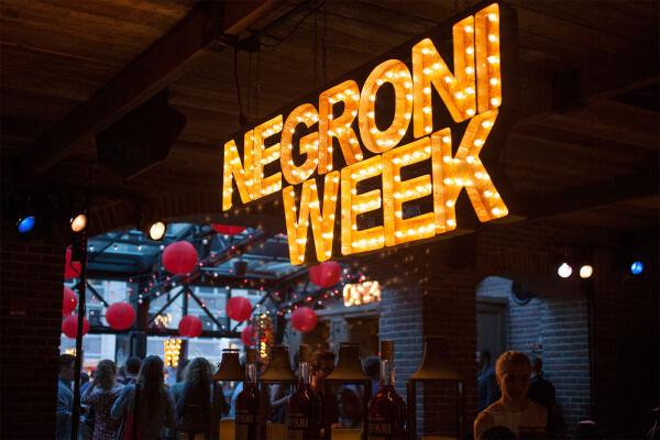 Negroni Week 2017 bringt weltweit über 500.000 US-Dollar ein